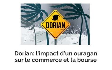 Dorian: l'impact d'un ouragan sur le commerce et la bourse